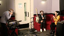 Live Lounge: The Ting Tings