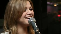 Live Lounge: Kelly Clarkson