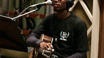 Live Lounge: B.o.B