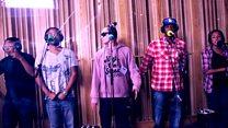 Live Lounge: Roll Deep