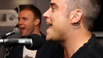 Live Lounge: Robbie and Gary