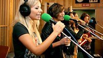 Live Lounge: The Saturdays
