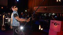 Live Lounge: Usher