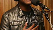 Live Lounge: Taio Cruz