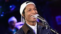 Live Lounge: A$AP Rocky
