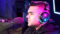 Live Lounge: Naughty Boy