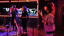 Live Lounge: Foxes