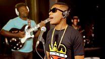 Live Lounge: Wizkid