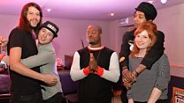 Live Lounge: Cerebral Ballzy