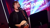 Live Lounge: Ed Sheeran