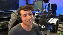 Grimmy's first ever link on the new breakfast show