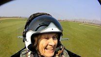 92-year-old World War Two veteran flies Spitfire again
