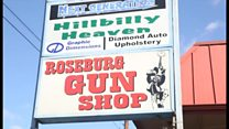 オレゴン銃乱射事件 一部住民は銃規制に反対