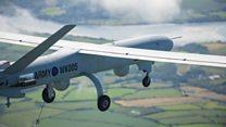 英国で旅客機空域のドローン飛行実験 20年までに実用目指す