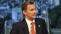 """Hospitals simply can't afford to roster enough people at weekends."" - Jeremy Hunt"