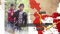 23日間で1万1000キロ シリアから脱出の青年は
