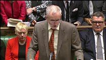 Corbyn and Cameron clash on tax credits