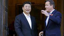 習中国主席の英公式訪問、歓迎の一方でくすぶる人権問題