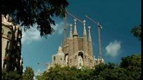 ガウディの傑作「サグラダ・ファミリア」大聖堂 完成まであと10数年か