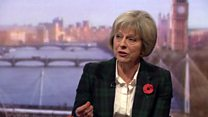 Theresa May on immigration and social cohesion