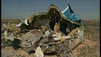 シナイ半島でロシア旅客機墜落 事故か攻撃か