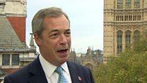 Nigel Farage's demands to stay in EU