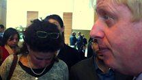 Boris Johnson abandons West Bank visit