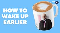 New presenter Nick Robinson's tips on how to get up early