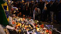 Police to survivors: 'Wave your hands if you're alive'