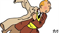 Tintin exhibition reveals Herge's secrets