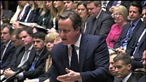 PM: UK 'can't dodge forever' air strikes question