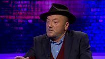 What does George Galloway think about shoot-to-kill powers?