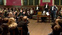 Oxford Union debates EU membership