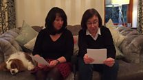 Daughters write letter to missing dad