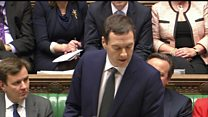 Osborne announces scrapping of tax credits cuts