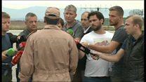 「警告なかった」 撃墜されたロシア軍機の副操縦士が記者団に