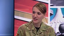 'Positive' to be transgender in the army