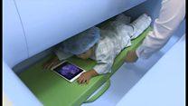 福島「ベビースキャン」で家族に安心を 赤ちゃんから不検出