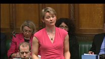 Yvette Cooper will vote for air strikes
