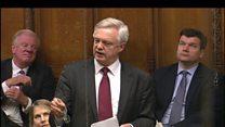 David Davis urges UK to demand allies 'do their job'