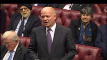 William Hague in Syria partition warning