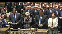 Syria result announced in Commons