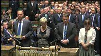 英下院がシリアのIS空爆を可決した瞬間