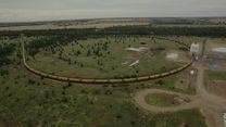 Mega train delivers Australian record