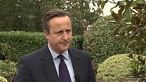 """David Cameron: """"Compelling case"""" to extend airstrikes to Syria"""
