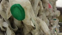 How are plastic milk bottles recycled?