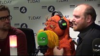 The Lorax visits the Today programme