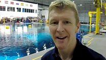 Video diary: Underwater spacewalker