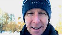 Video diary: Winter survival training