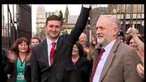 Jeremy Corbyn welcomes new Labour MP